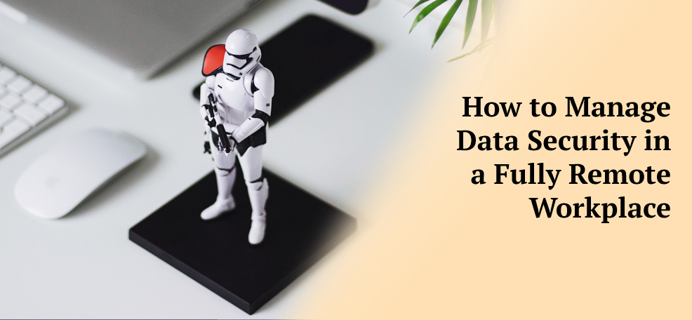 How to Manage Data Security in a Fully Remote Workplace?