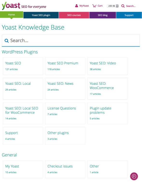 knowledge base examples