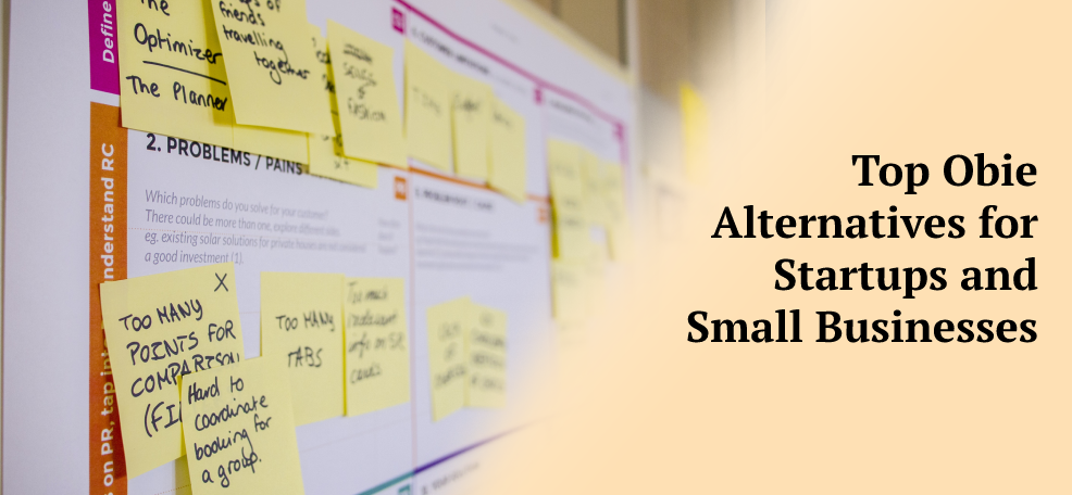 Top Obie Alternatives for Startups and Small Businesses